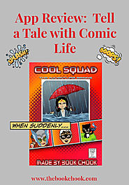 The Book Chook: App Review: Tell a Tale with Comic Life 3