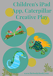 The Book Chook: Children's iPad App, Caterpillar Creative Play