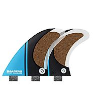 Shapers Stealth Pivot Thruster Fins - Medium ( Blue ) – Surf Nation