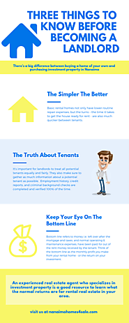 Three Things To Know Before Becoming A Landlord