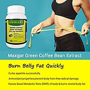 Buy Maxgars Green Coffee Bean Extract For Weight Loss Supplement