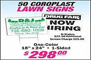 Promote your product or business with using Cheap Real Estate Signs Edison