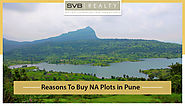 Resons for Buying NA Plots in Pune
