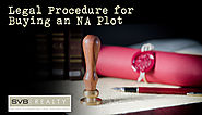 Legal Procedure for Buying an NA Plot