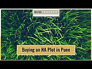 Buying an NA Plot in Pune