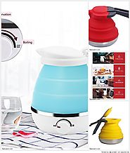 Top 10 Best Collapsible Folding Silicone Camping /Travel Kettle Reviews 2018-2019 on Flipboard