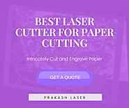 Paper Laser Cutting Machines | Best Paper Cutter Machine Manufacturer and Supplier‎ India