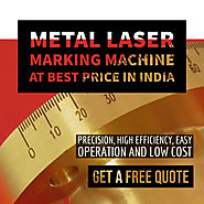 Metals laser marking machine at best price in India