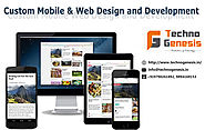 Custom Mobile and Web Application Design & Development in Madurai – Techno Genesis
