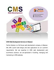 Cms web development services in madurai