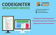 CodeIgniter Web Application Development Services in Madurai – Techno Genesis