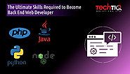 The Ultimate Skills Required to Become Back-End Web Developer