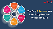 The Only 3 Reasons You Need To Update Your website in 2018