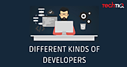 [Infographics] - Different types of Web Developer | TechTIQ Solutions