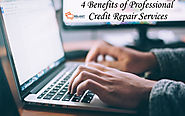 4 Benefits of Professional Credit Repair Services Near You