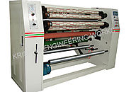 BOPP Colored Tapes Cutting, BOPP Tape Slitter Machine