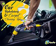 Tips to car upholstery cleaning and car carpet cleaning you should follow