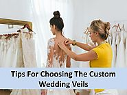 Tips For Choosing The Custom Wedding Veils by parkcitybridal