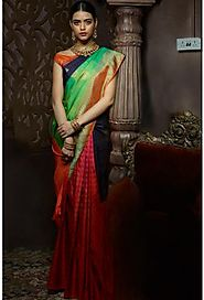 Designer Sarees, Party Wear, Fancy, Kalamkari, Wedding Silk Sarees Online