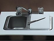 Diaper Changing Station w/Portable Stainless Steel Sink Model: PSE-2010