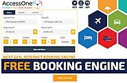 Free Flight Booking Engine & Free Hotel Booking Engine- AccessOne.io
