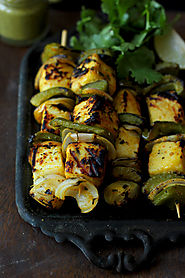 Paneer Tikka (Cottage Cheese Skewers)