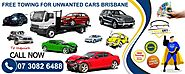 Car Removals Brisbane | Old & Unwanted Car Free Towing | Wreckery