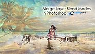 Merge Layer Blend Modes In Photoshop | Clipping Path EU