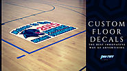 Custom Floor Decals: The Best Innovative Way of Advertising | Pro-Tuff Decals