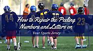 How to Repair the Peeling Numbers and Letters on Your Sports Jersey