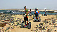 Segway Tours in El Cotillo