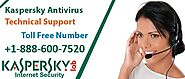 Kaspersky antivirus to block the entry of malicious activities in your PC – Technical Support Number +1-888-600-7520 ...