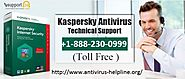 Kaspersky Antivirus Helpline — Kaspersky Antivirus Support to Help You Enjoy...