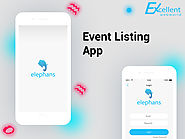 Event Listing App by Excellent WebWorld - Dribbble