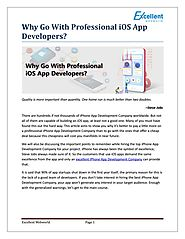 Why Go With Professional iOS App Developers? by Paresh Sagar - Issuu