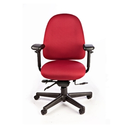 Perch Memory Foam Office Chair - Medium Back