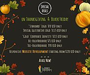 Enjoy Amazing Offers This Thanksgiving on Digital Services For Your Business