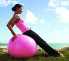 Pink Exercise and Workout Gear and Equipment
