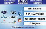 Final Year IEEE and Application Projects Center in Madurai – IT Training Course Coaching Center in Madurai | Spoken E...