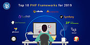 Top PHP Web development frameworks trending in 2019