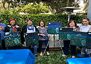 Get back your childhood days with a paint night