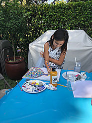 How painting helps kids?