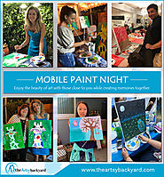 Why to arrange paint night with professionals?