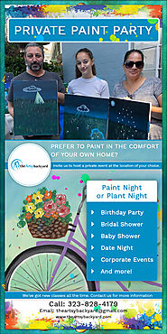 How to make your private paint party amazing?