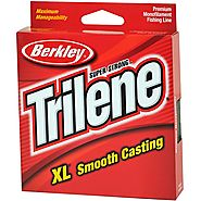 Berkley Trilene XL Smooth Casting Monofilament Service Spools (XLPS6-15), 110 Yd, pound test 6 - Clear