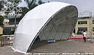 Diameter 30m Geodesic Dome Tent for Concert - Spherical Stage Domes