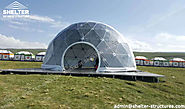 Geo Dome Tent - New Design For Resorts, Glamping, Social Events