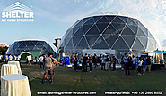Events Under Dome Marquee - Quality Geodesic Structure for Sale