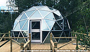 Dia.6m 8m 10m Geodesic Glass Dome House for Greenhouse, Recreation