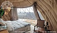 6m Dome Pod Igloo For Sale - Luxury Glamping Suite for Eco Resort lodge